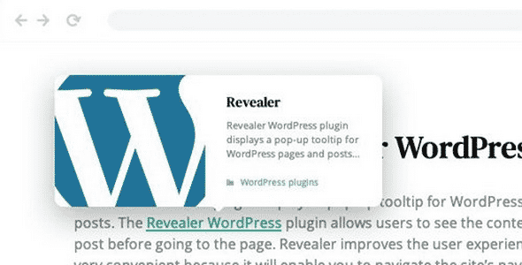 Plugin Revealer - WordPress