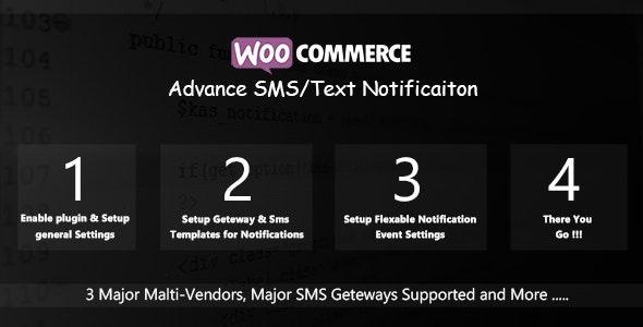 Plugin WooCommerce Advance SMS Text Notification - WordPress