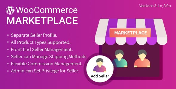 Plugin WooCommerce Multi Vendor Marketplace - WordPress