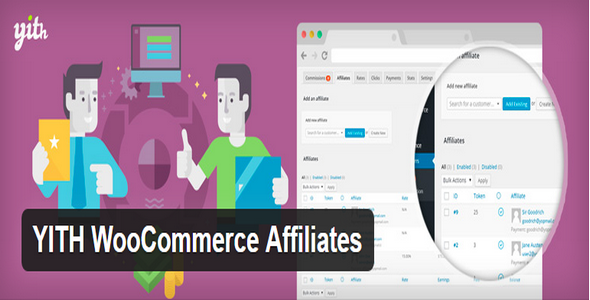 Plugin YITH WooCommerce Affiliates - WordPress