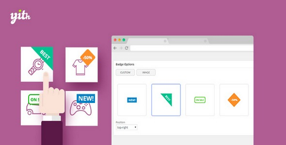 Plugin YITH WooCommerce Badge Management - WordPress