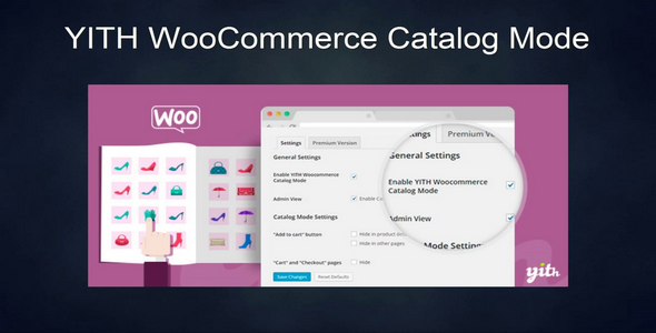 Plugin YITH WooCommerce Catalog Mode - WordPress