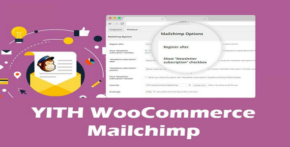 Plugin YITH WooCommerce Mailchimp - WordPress