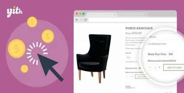 Plugin YITH WooCommerce Name your Price - WordPress