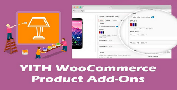 Plugin YITH WooCommerce Product Add-ons - WordPress