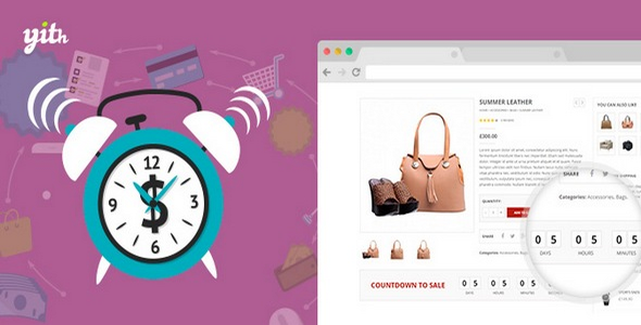 Plugin YITH WooCommerce Product Countdown - WordPress