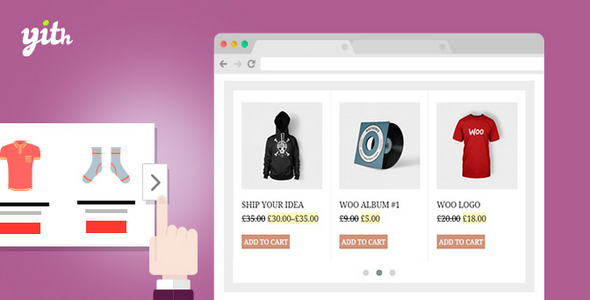 Plugin YITH WooCommerce Product Slider Carousel - WordPress