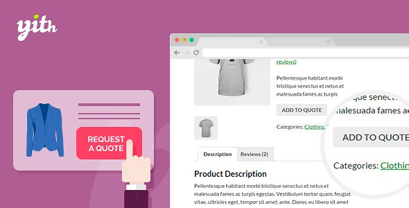 Plugin YITH WooCommerce Request a Quote - WordPress