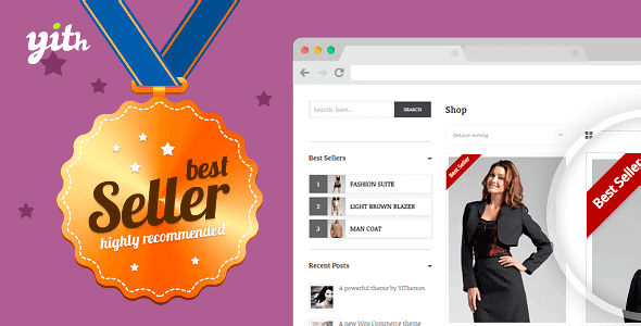 Plugin YITH Woocommerce Best Sellers - WordPress