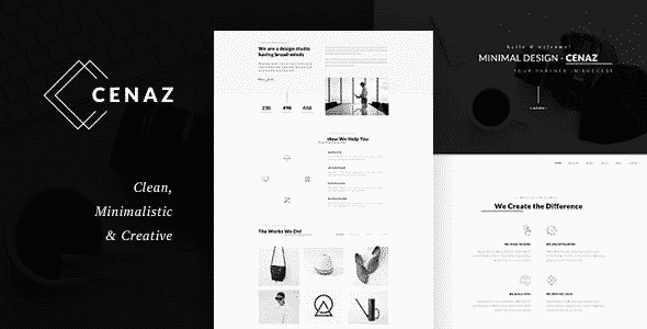TEma Cezan - Template WordPress