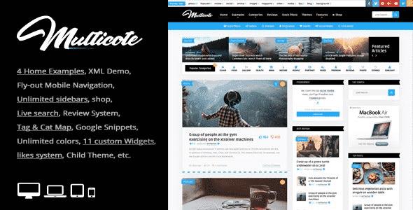 TEma Multicote - Template WordPress