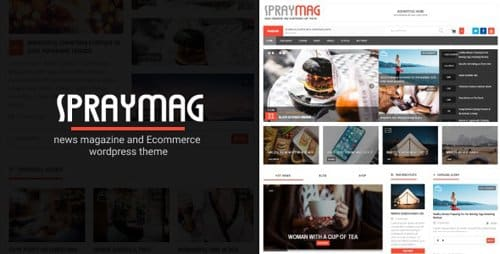 TEma Spraymag - Template WordPress