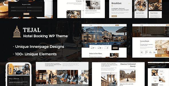 TEma Tejal - Template WordPress