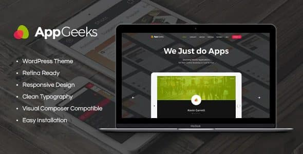 Tema AppGeeks - Template WordPress