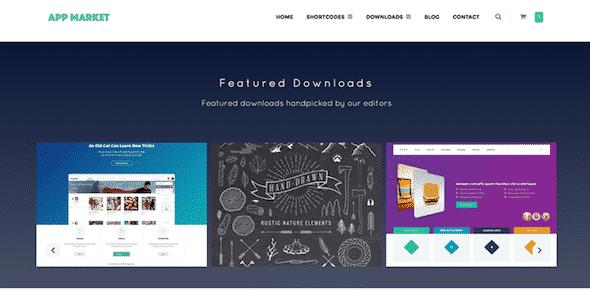 Tema Appmarket - Template WordPress