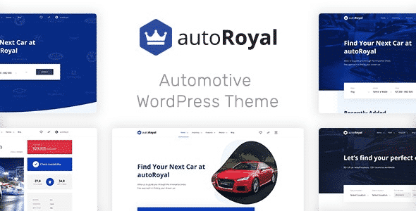 Tema Autoroyal - Template WordPress