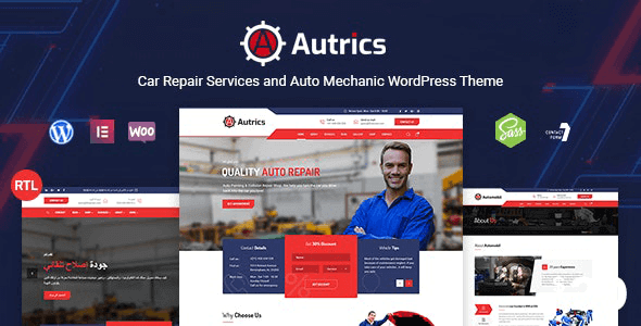 Tema Autrics - Template WordPress