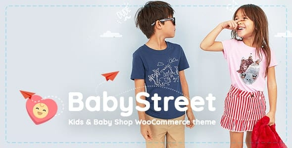 Tema Babystreet - Template WordPress