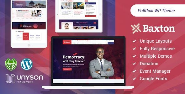 Tema Baxton - Template WordPress