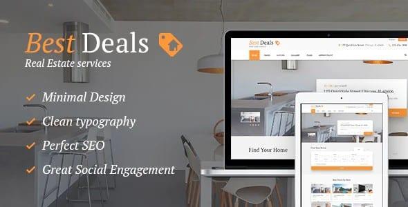 Tema Best Deals - Template WordPress