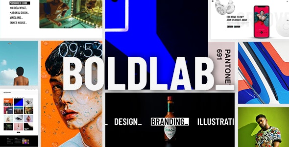 Tema Boldlab - Template WordPress