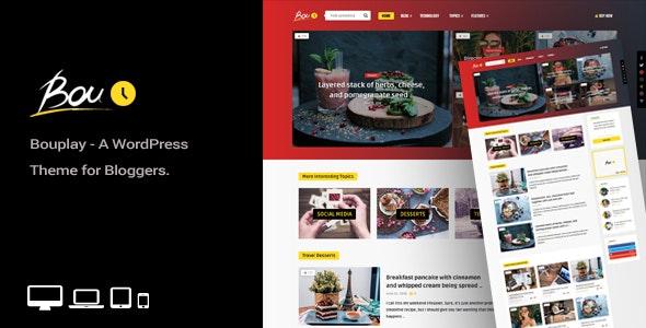 Tema Bouplay WP - Template WordPress