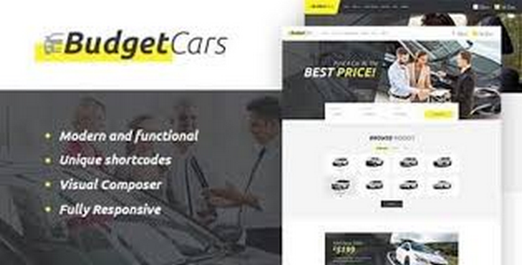 Tema Budget Cars - Template WordPress