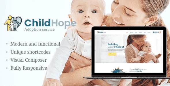 Tema Childhope - Template WordPress