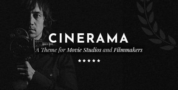 Tema Cinerama - Template WordPress