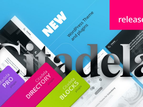 Tema Citadela - Template WordPress