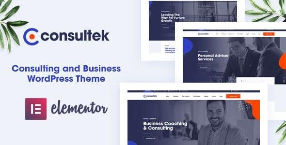 Tema Consultek - Template WordPress