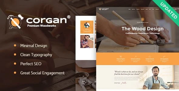 Tema Corgan - Template WordPress