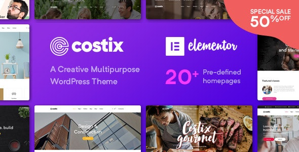 Tema Costix - Template WordPress