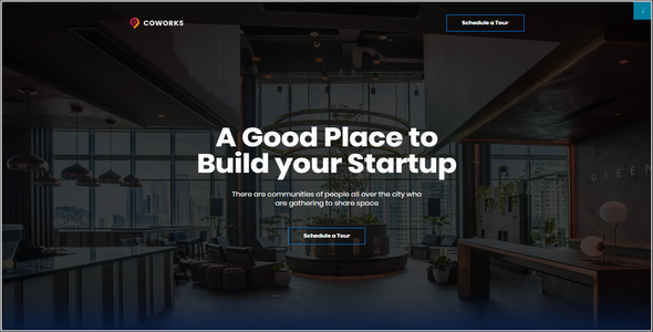 Tema Coworks Elementor - Template WordPress