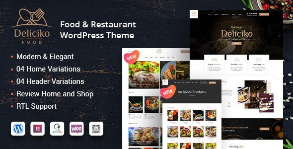 Tema Deliciko - Template WordPress