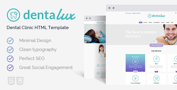 Tema Dentalux - Template WordPress