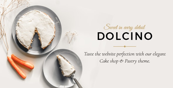 Tema Dolcino - Template WordPress