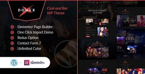Tema Domex - Template WordPress