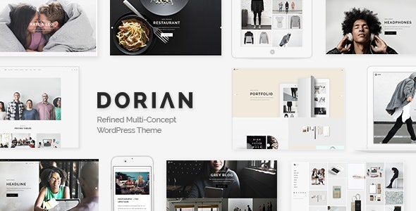 Tema Dorian - Template WordPress