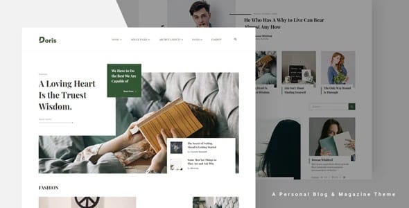 Tema Doris - Template WordPress