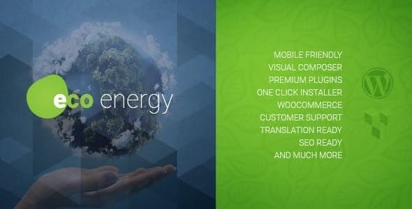 Tema Eco Energy AncoraThemes - Template WordPress