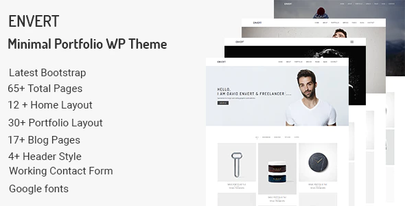 Tema Envert - Template WordPress