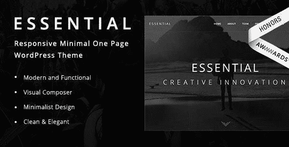 Tema Essential RavenBlueThemes - Template WordPress