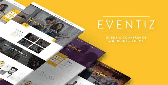 Tema Eventiz - Template WordPress