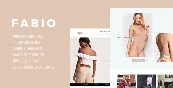 Tema Fabio - Template WordPress