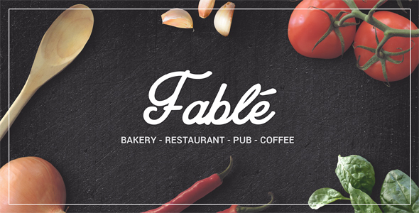 Tema Fable Ovatheme - Template WordPress
