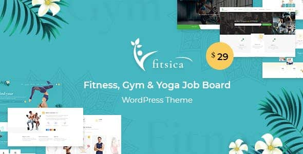 Tema Fitsica - Template WordPress