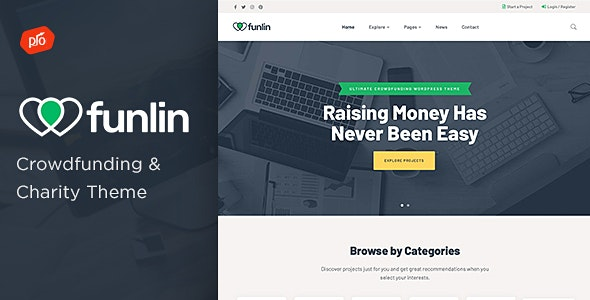 Tema Funlin - Template WordPress