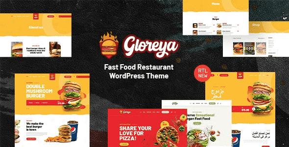 Tema Gloreya - TEmplate WordPress