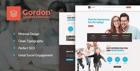 Tema Gordon - Template WordPress